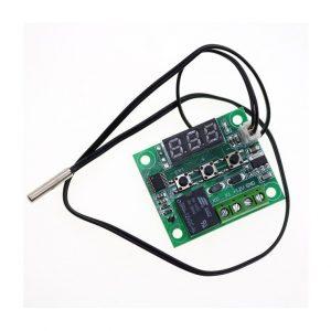 ترموستات دیجیتال xh w1209 دارای نمایشگر و کلیدهای کنترلی 3 ارکید استور