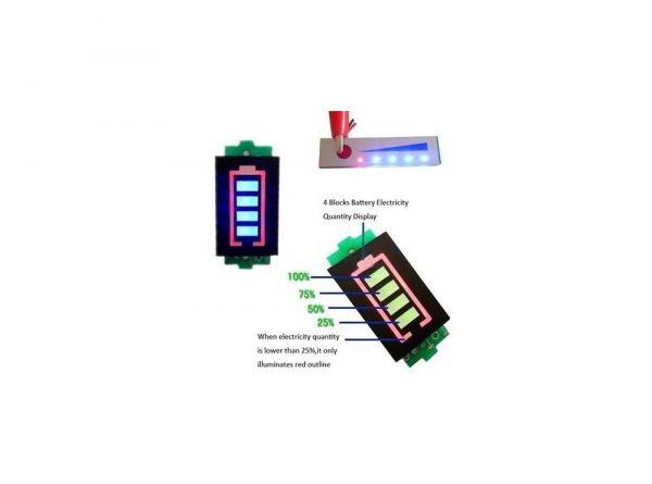 سگمنت سطح شارژ باترى لیتیم سه سل 126v 1 ارکید استور