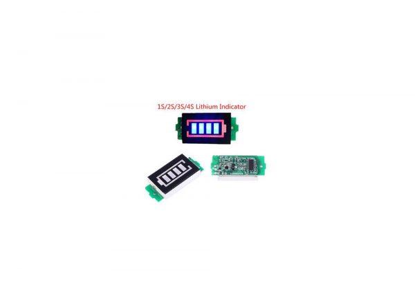 سگمنت سطح شارژ باترى لیتیم سه سل 126v 2 ارکید استور
