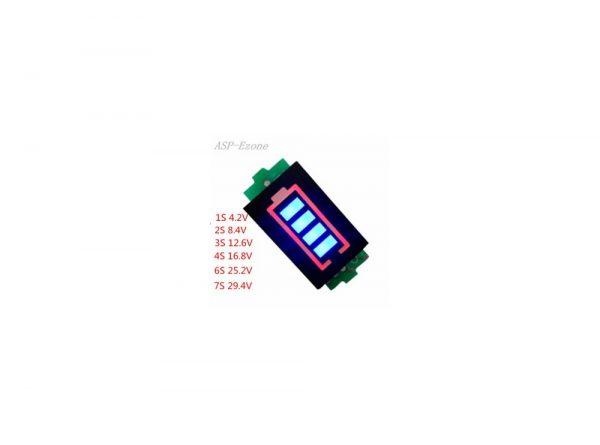 سگمنت سطح شارژ باترى لیتیم سه سل 126v 3 ارکید استور