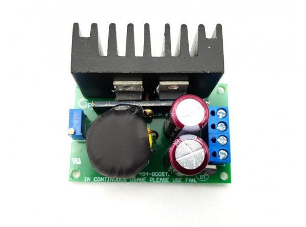 مبدل dc dc افزاینده ولتاژ 150w مدل tl494 با امکان کنترل جریان خروجی 3 ارکید استور