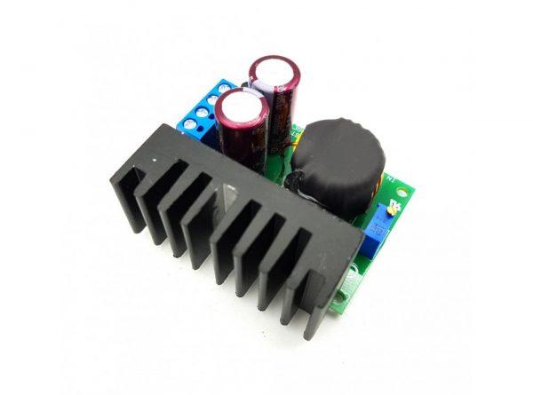 مبدل dc dc افزاینده ولتاژ 150w مدل tl494 با امکان کنترل جریان خروجی 5 ارکید استور