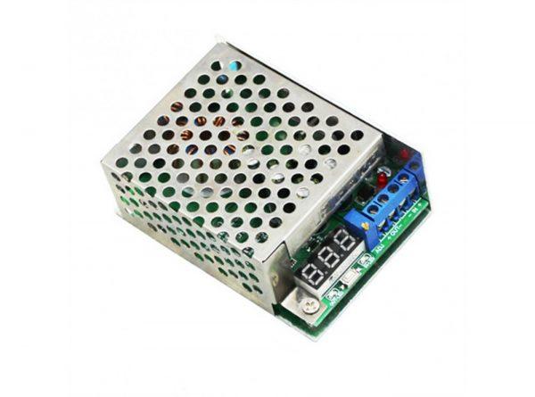 dc dc کاهنده 10 آمپر 300w با نمایشگر ولتاژ ارکید استور