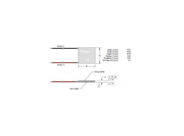 سرد کننده tec1 12706 6a 2 ارکید استور