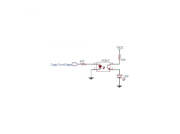 اپتوکوپلر pc817 پکیج dip 2 ارکید استور