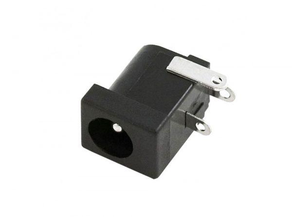 آداپتوری مادگی مشکی استاندارد dc 005 قطر پین 20mm ارکید استور