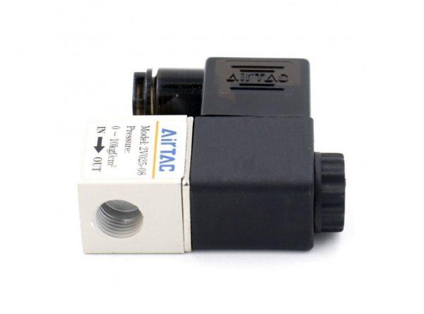 سلونوئیدی پنوماتیک airtac مدل 2v025 08 3 ارکید استور