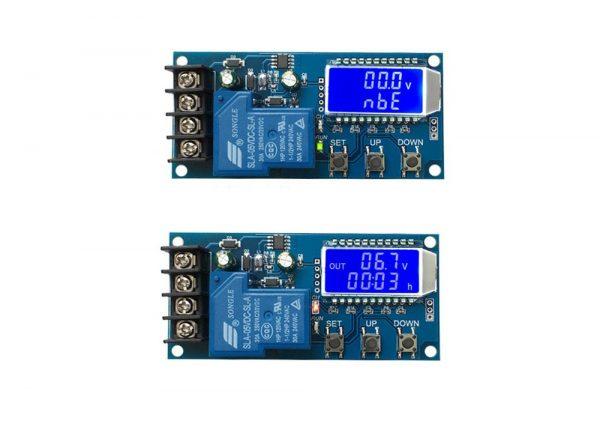 کنترل شارژ باتری دیجیتال 6 الی 60 ولت مدل xy l30a 6 ارکید استور