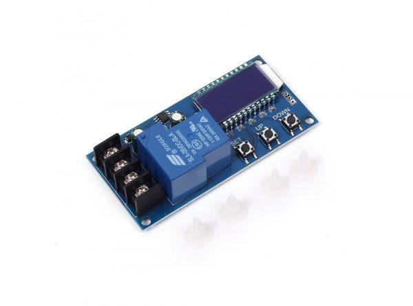 کنترل شارژ باتری دیجیتال 6 الی 60 ولت مدل xy l30a ارکید استور