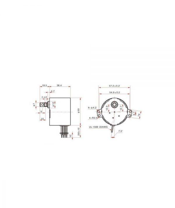 gear motor 50ktyz 1 ارکید استور