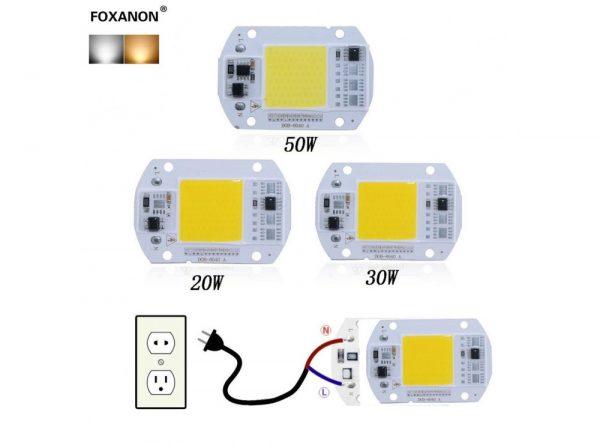 led cob مهتابی 20w 220v با درایور داخلی 1 ارکید استور