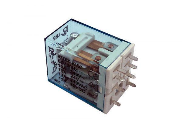 شیشه ای 48vdc تایوانی مارک rayex کد lb2 48dp ارکید استور