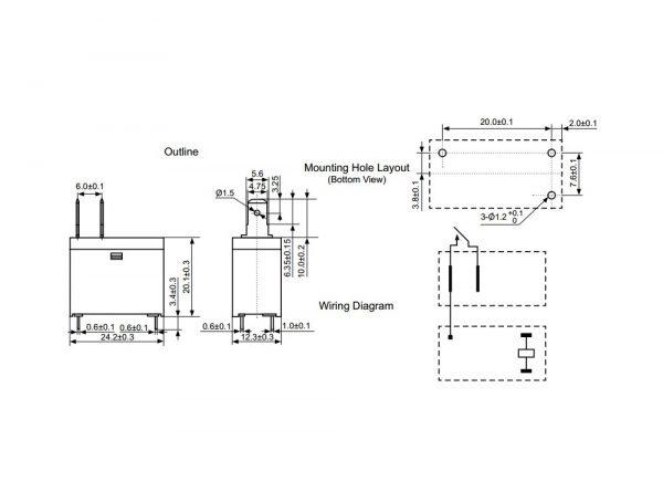 قدرت 12v 16a مارک everbest کد dysf dc12v p1 3 ارکید استور