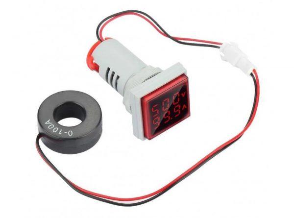 سیگنال با ولتمتر و آمپرمتر روپنلی مدل ad16 22fva ارکید استور