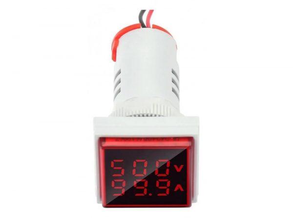 سیگنال با ولتمتر و آمپرمتر روپنلی مدل ad16 22fva 7 ارکید استور