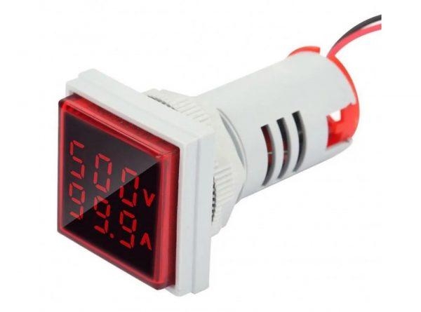 سیگنال با ولتمتر و آمپرمتر روپنلی مدل ad16 22fva 8 ارکید استور