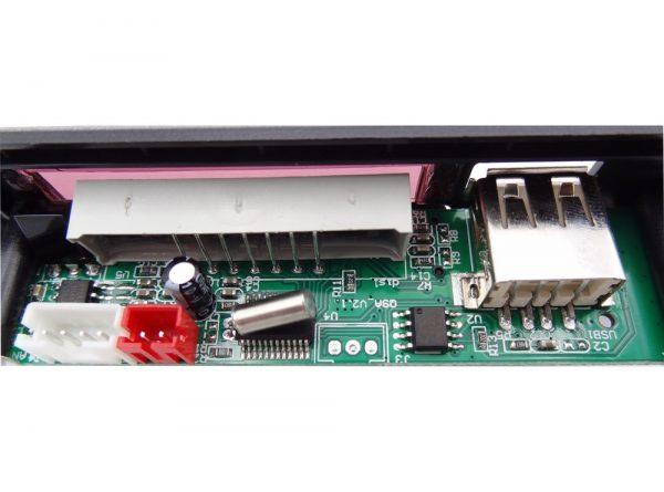 کننده 12v پنلی mp3 پشتیبانی از microsd و usb با ریموت کنترل 2 ارکید استور