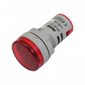 22mm AC 60V 500v LED Voltage Meter Indicator 611 2 500x500 1 ارکید استور