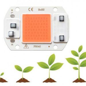 led cob مخصوص رشد گیاه 30w 220v با درایور داخلی 4 ارکید استور