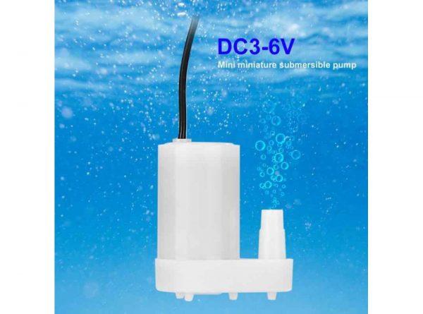 پمپ آب مینیاتوری 5 3 ولت dc مدل vertical 1 ارکید استور