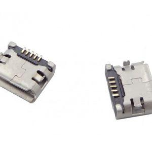 micro usb مادگی 5pin با دو هولدر سطحی smd ارکید استور