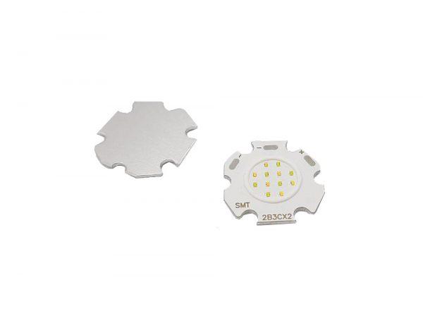 3w led نور میکس آفتابی مهتابی به همراه هیت سینک مدل 2b3c ارکید استور