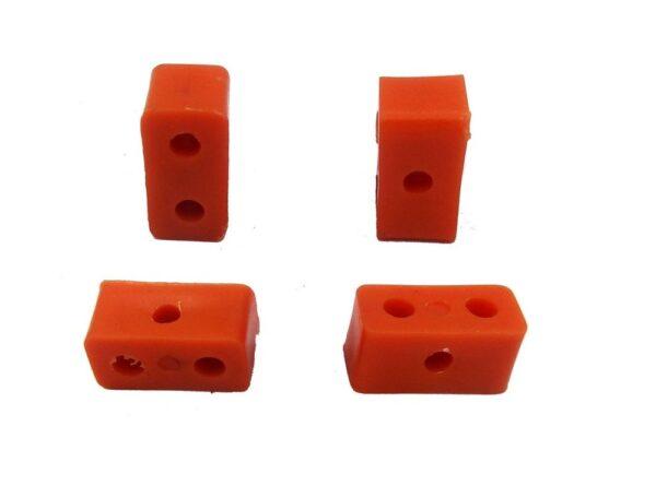 سازه پلاستیکی صاف دو سوراخ 1 ارکید استور