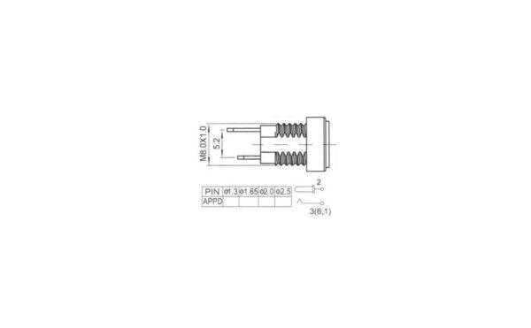 آداپتور روپنلی مدل dc 022ba 2 ارکید استور