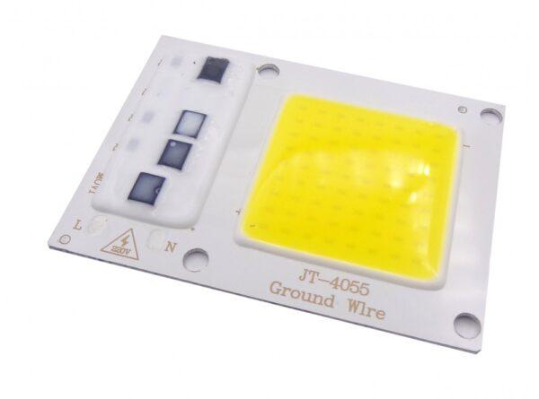 led cob آفتابی 30w 220v با درایور داخلی مدل jt 4055 1 ارکید استور