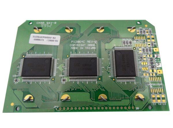 glcd 64x128 گرافیکی دارای بک لایت ks0108 تایوانی صنعتی ارکید استور