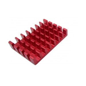 سینک مخصوص پردازنده و تراشه های smd رنگ قرمز سایز 25x18x5mm ارکید استور