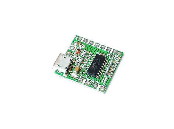 آمپلی فایر 2x3w کلاس d تراشه pam8403 با ورودی micro usb 4 ارکید استور