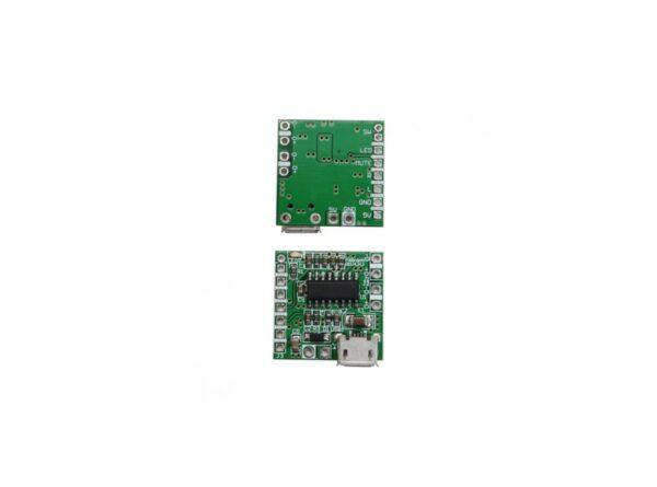 آمپلی فایر 2x3w کلاس d تراشه pam8403 با ورودی micro usb 6 ارکید استور
