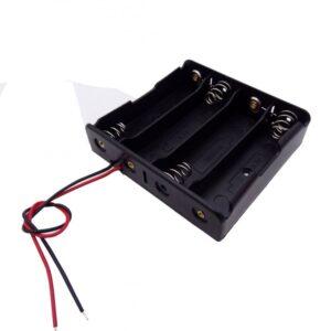 چهار تایی باتری های لیتیوم یون 37v سایز 18650 ارکید استور
