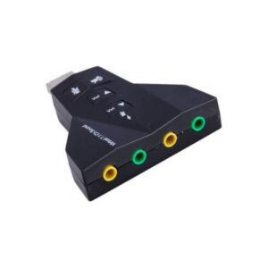 صدای اکسترنال دوکانال usb مدل virtual 71 ارکید استور