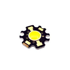 led cob سفید مهتابی 3w 6v مدل lustrous 5nwagb ارکید استور