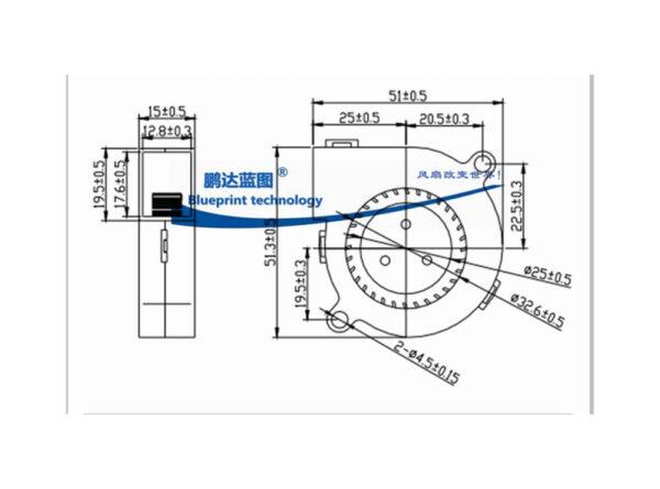 حلزونی 12 ولت sanly مدل sf5015sl 4 ارکید استور