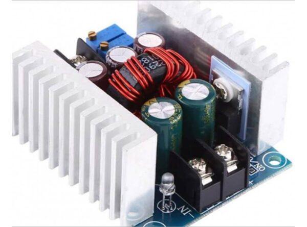 کاهنده 20 آمپری dc dc با کنترل ولتاژ و جریان 300w 4 ارکید استور