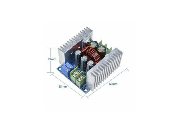 کاهنده 20 آمپری dc dc با کنترل ولتاژ و جریان 300w 6 ارکید استور