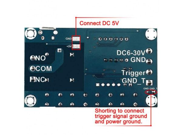 تایمر 30 6 ولت قابل تنظیم همراه با رله و نمایشگر مدل jz 801 3 ارکید استور