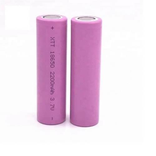 xtt 18650 2200 mah 3 7v lithium ion battery cell 500x500 1 ارکید استور