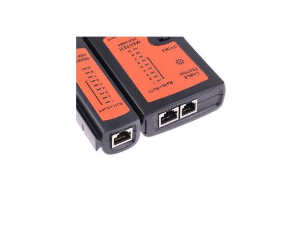 شبکه و کابل rj11rj45usbbnc tester 1 ارکید استور