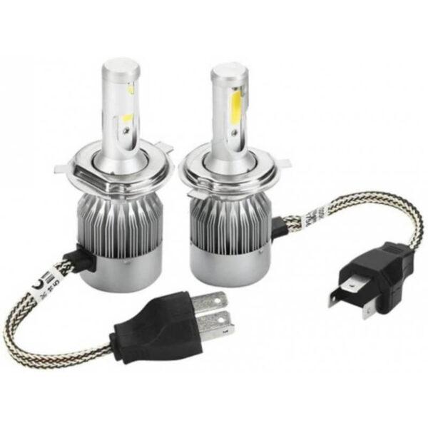 c6 h4 led headlight 36w 3800lm pair ارکید استور