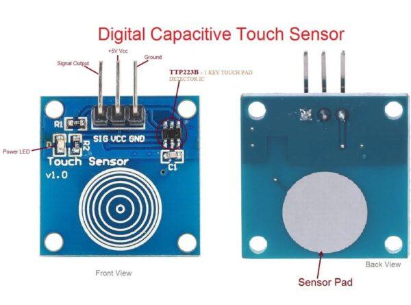 8ل سنسور لمسی touch pad ارکید استور