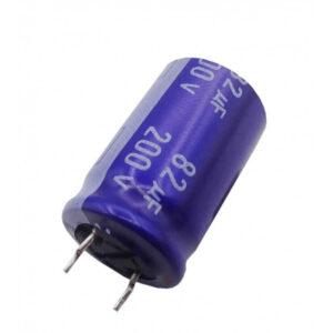 الکترولیتی 82uf 200v ژاپنی panasonic ارکید استور