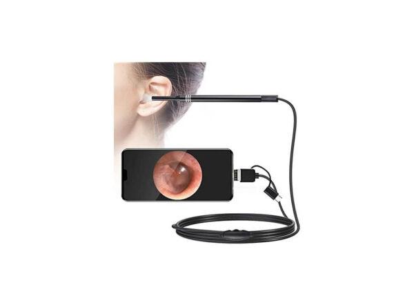 آندوسکوپ گوش 13 مگاپیکسل لنز 55mm با کابل 2 متر 5 ارکید استور