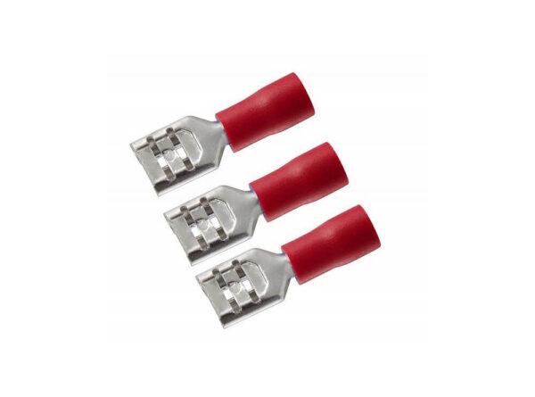 کولری نیم روکش مادگی قرمز سایز 63 مدل fdd125 250 بسته100 تایی 1 ارکید استور