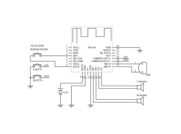 بلوتوث صوتی hifi مدل jdy 64 3 ارکید استور