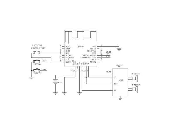 بلوتوث صوتی hifi مدل jdy 64 4 ارکید استور