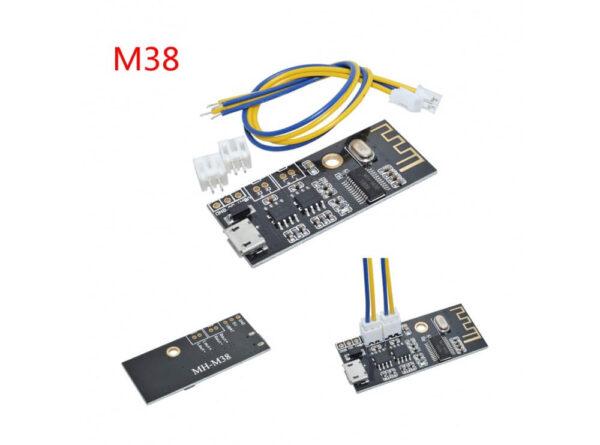 بلوتوث صوتی mh m38 دارای 2 خروجی آمپلی فایر 50w 1 ارکید استور
